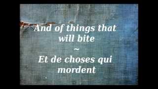 Métallica - Enter Sandman Parole ( lyrics ) + traduction