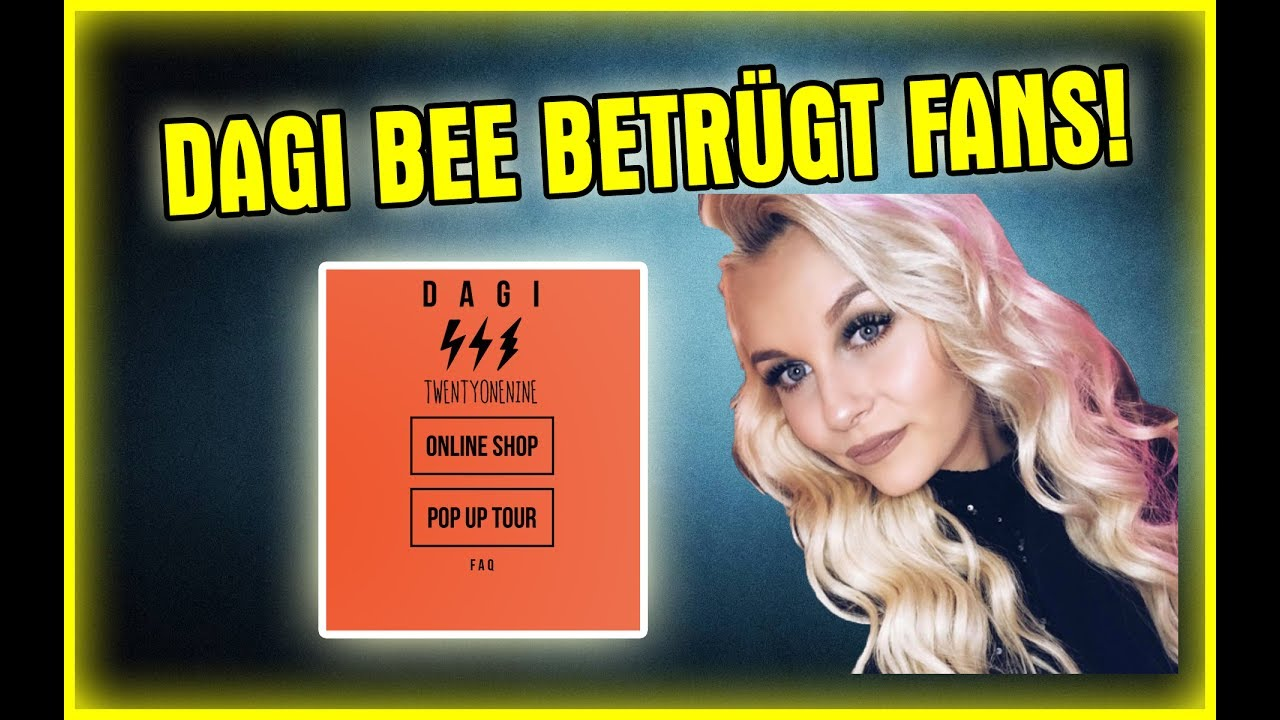 dagibee verarscht fans wahrheit ueber ss dagi shop youtube. Black Bedroom Furniture Sets. Home Design Ideas