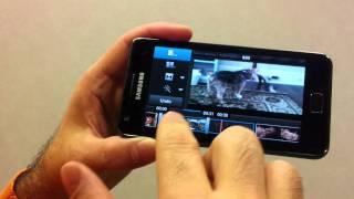 [Jo Videos] Samsung Galaxy S II Tips & Tricks - Edit Home Videos
