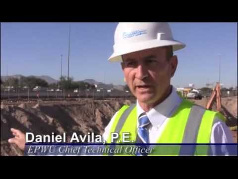 EPWU Stormwater Pond Will Protect I-10, Central El Paso