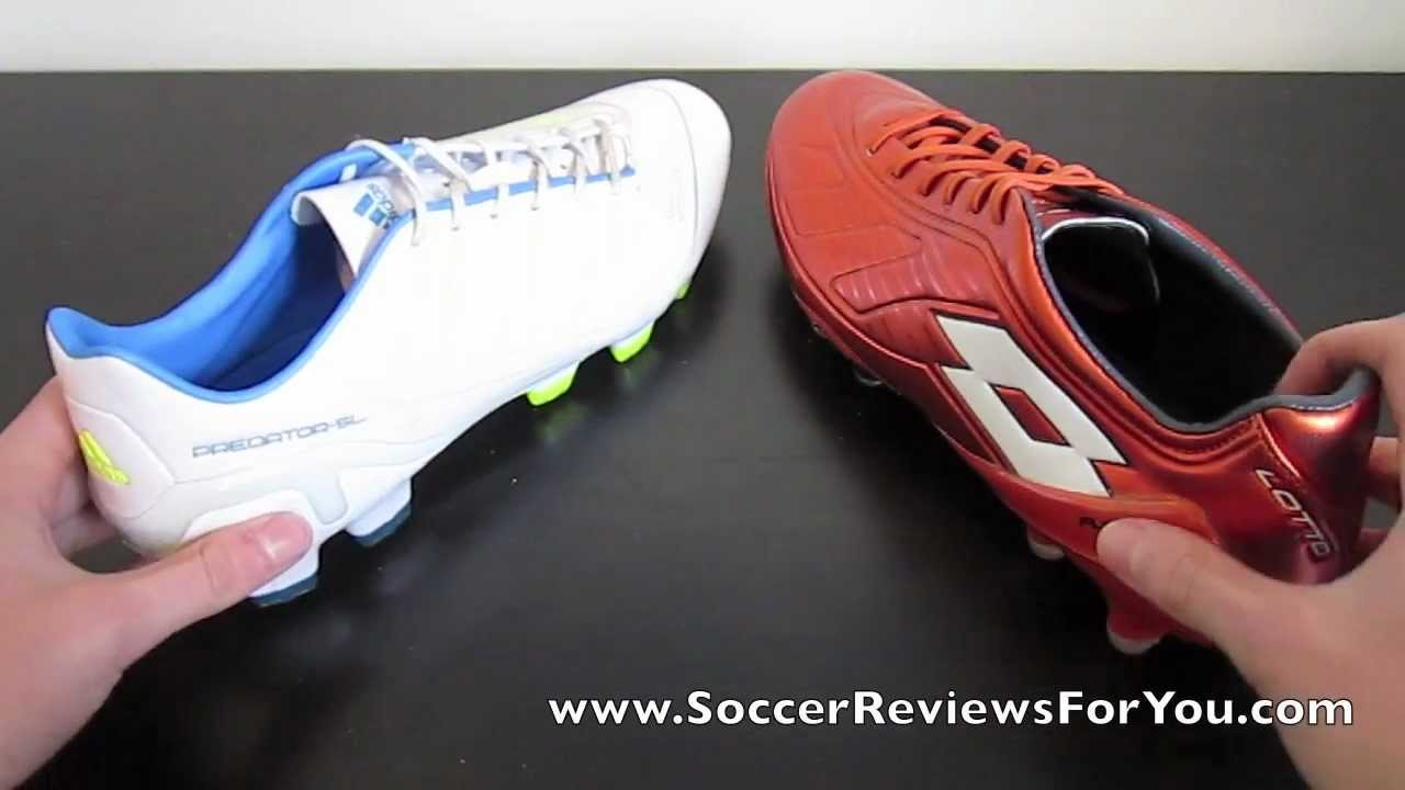 Adidas adipower SL VS Lotto Futura 100 - Comparison - YouTube 70eea3e0709a