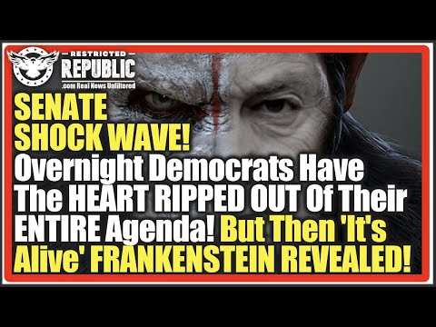 SENATE SHOCKWAVE! Overnight Democrats Have HEART RIPPED OUT Of ENTIRE Agenda! 'It's Alive&