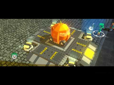 LEGO Batman 2 DC Super Heroes - All 25 Land Vehicles in Action (Cars/Bikes)