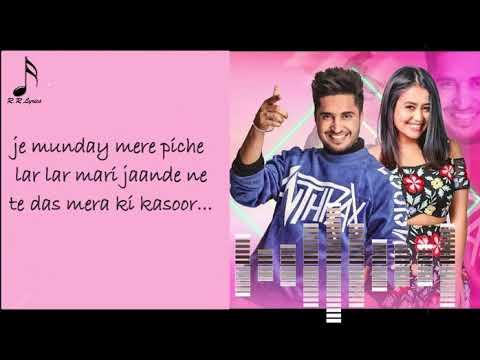 Dass Mera Ki Kasoor (Full Song)  Jassi Gill   Neha Kakkar   Punjabi new Song