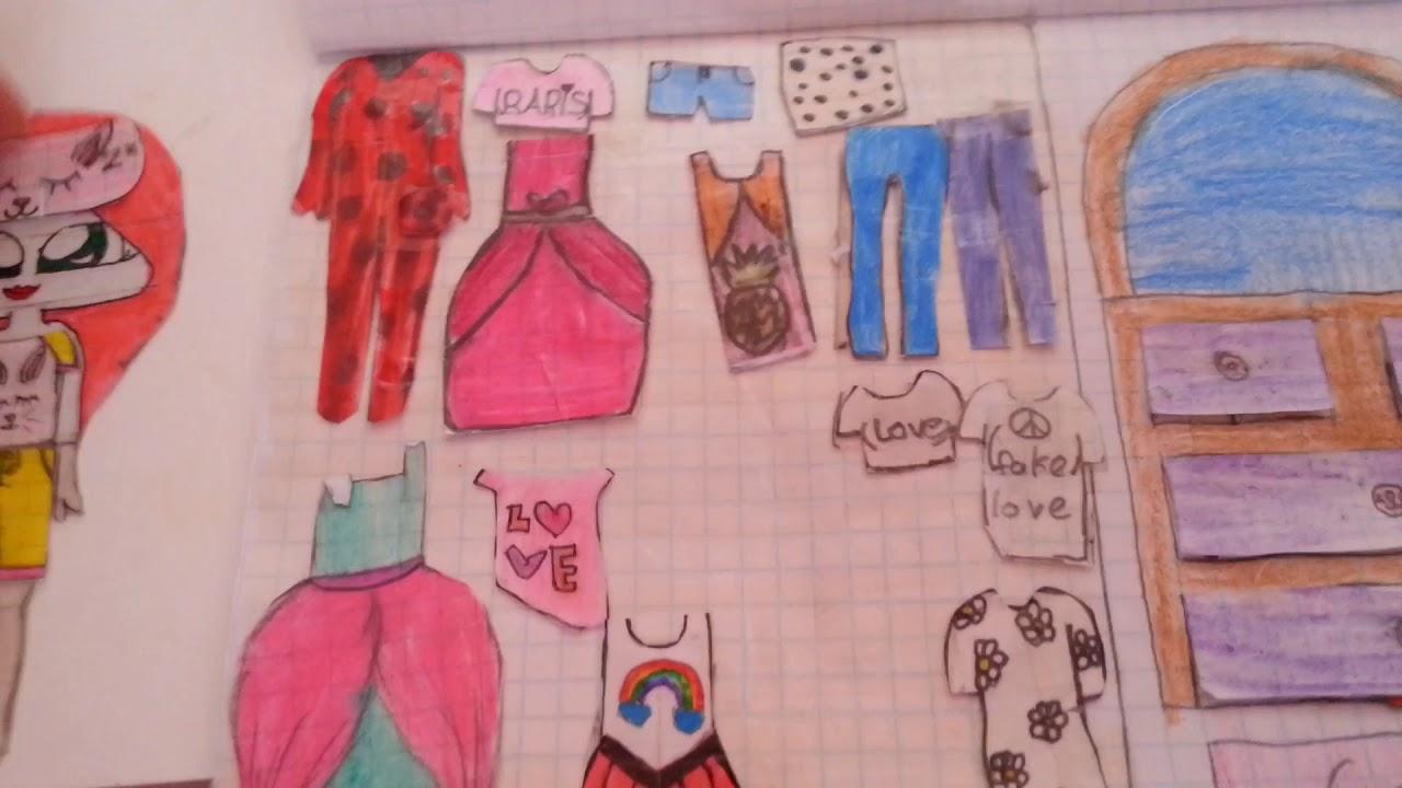 Kağıt bebek evimi tanıtıyorum||LPS Kitty TR||♥♥♥♥