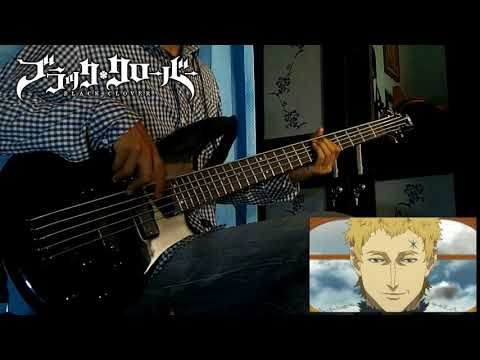 【Black Clover OP3】 Vickeblanka - Black Rover 「Bass Cover」