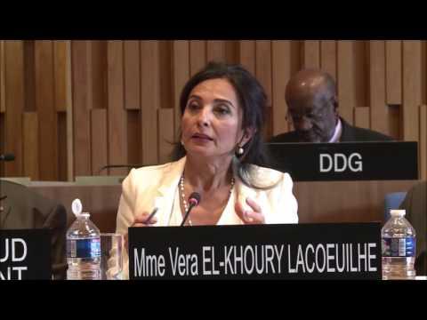 Vera El Khoury Lacoeuilhe on depoliticization   interview for DG UNESCO