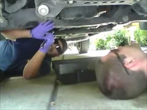 2008 toyota sequoia oil filter change
