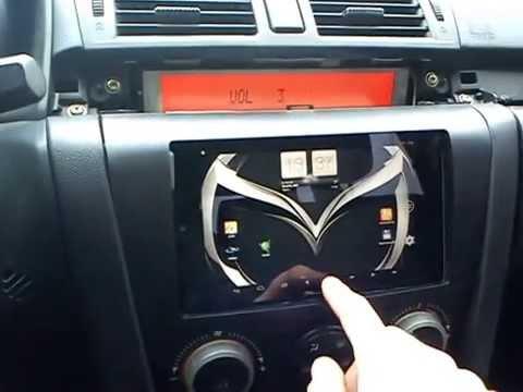 Планшет nexus 7 в авто mazda3 как головное устройство - youtube