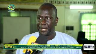 ITV Pr. Mor Faye (Séminaire du Comité Scientifique du Complexe Cheikh Ahmadoul Khadim )