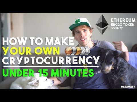 How to make a cryptocurrency on ethereum