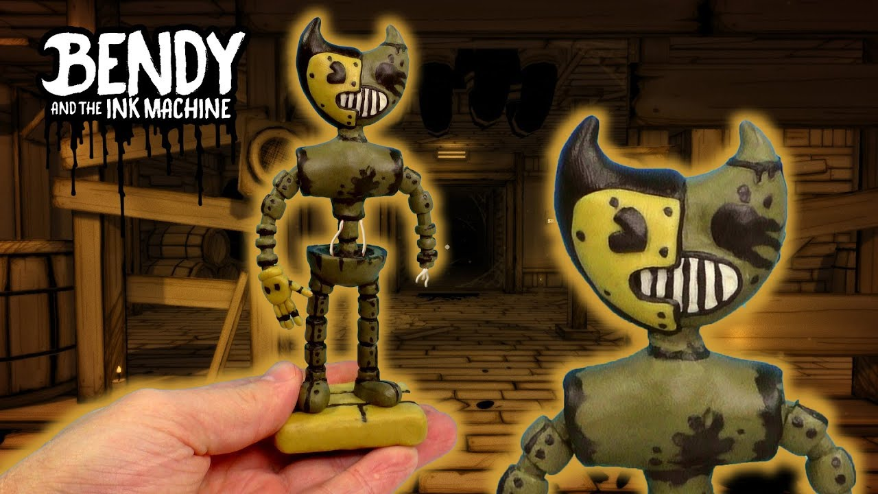АНИМАТРОНИК БЕНДИ из игры Bendy And The Ink Machine 4