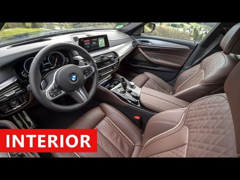 2018 Bmw 5 Series M550i Interior Full Walkaround