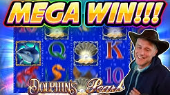 MEGA WIN!! Dolphins Pearl BIG WIN - 20€ RAW BONUS - Casino Games from Casinodaddy live stream