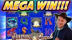 MEGA WIN!! Dolphins Pearl BIG WIN - 20€ RAW BONUS - Casino Games from Casinodaddy live stream