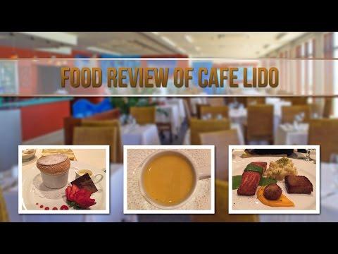 Food Review: Cafe Lido At Elbow Beach Resort, Jan 2017