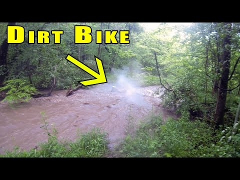 Dirt Bike Washed Away in a Flood - S3|EP9