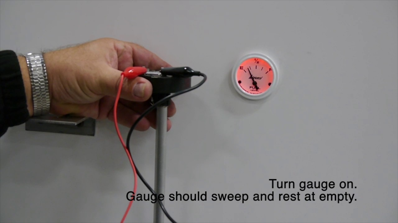 how to calibrate capacitance type fuel level sender [ 1280 x 720 Pixel ]