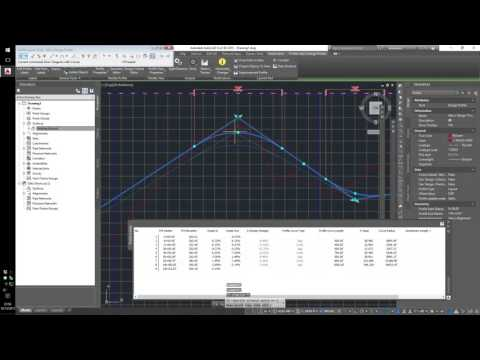 20151015 Civil 3D in Road Design / Layout in 14 Minutes