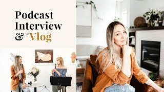 FIRST PODCAST INTERVIEW | Live Event | VLOG #1