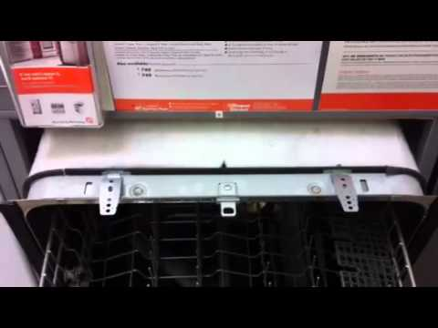 Countertop Dishwasher Mount : How to mount a dishwasher - YouTube