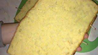 Классический бисквит. Очень простой рецепт!