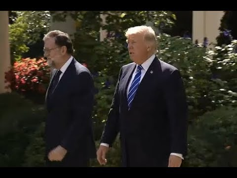 Trump News Conference With Spanish Prime Minister Mariano Rajoy  - Full Event