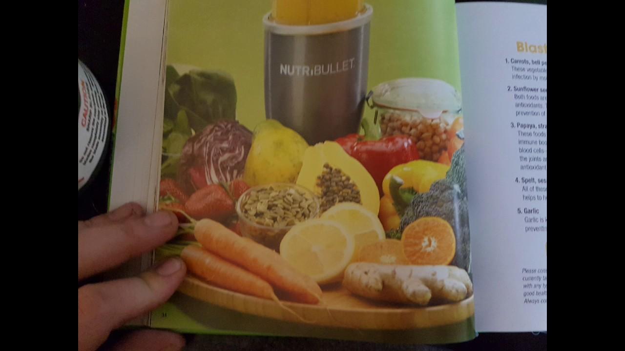 Nutribullet healing foods recipe book youtube nutribullet healing foods recipe book forumfinder Gallery