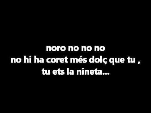 Pepet i Marieta - La Nineta dels Meus Ulls ( LLETRA )