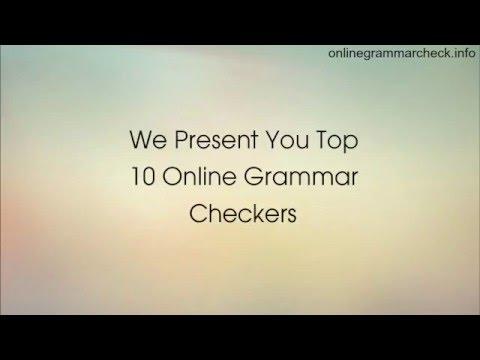 Top 10 Online Grammar Checkers