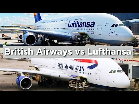 EUROPE'S WORST BUSINESS CLASS: British Airways Vs. Lufthansa