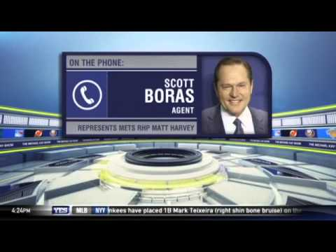Scott Boras weighs in on Matt Harvey