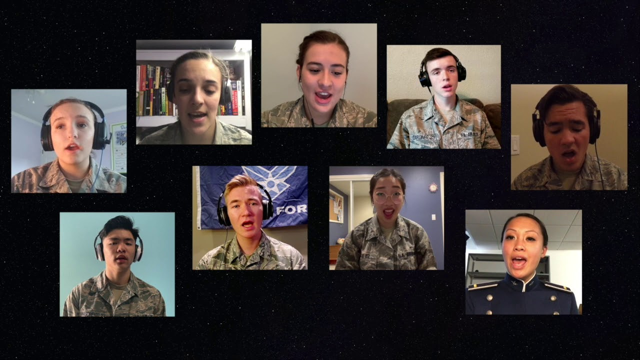 Air Force Cadets Sing to Spread Hope During COVID-19