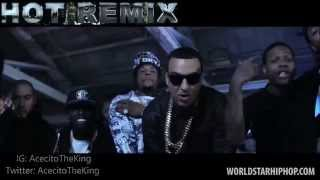 French Montana feat. Bobby Shmurda & Rowdy Rebel - HOT NIGGA REMIX (Official Music Video) WSHH 2014