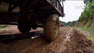 Вьетнам - Самые Страшные и Жуткие Дороги в Мире 'Самые опасные путешествия'