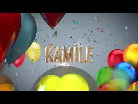 Doğum günün kutlu olsun  Kamile