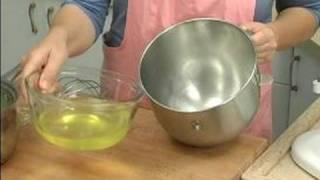 How To Make Lemon Mousse : Whipping Egg Whites For Lemon Mousse