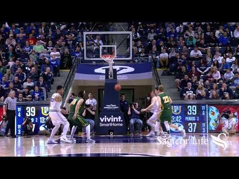 Men's Basketball - BYU vs. San Francisco Highlights February 10, 2018