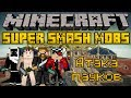 Атака пауков - Minecraft Super Smash Mobs Mini-Game [LastRise]