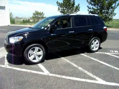 New 2010 Toyota Highlander Limited From Newcarscolorado