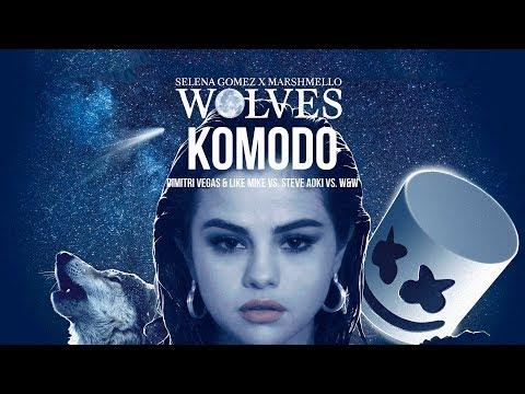 Komodo vs. Wolves vs. Hey Baby (Dimitri Vegas & Like Mike Mashup) - Bringing The Madness 2017