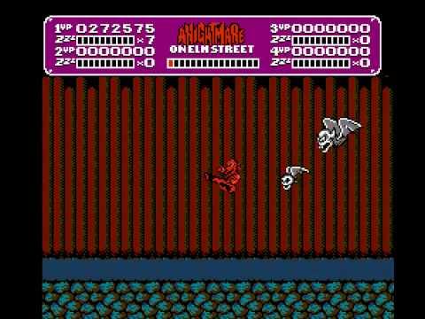 NES Longplay [303] A Nightmare on Elmstreet
