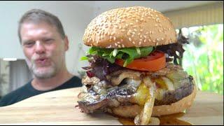 Aussie Steak and Egg Burger