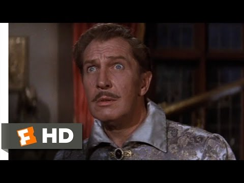 The Raven (1/11) Movie CLIP - The Raven Speaks (1963) HD