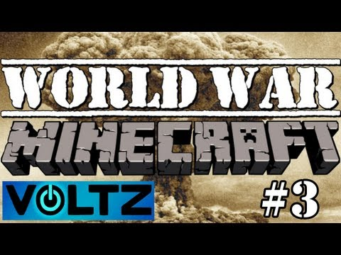 Voltz: World War Minecraft - ME Storage System!
