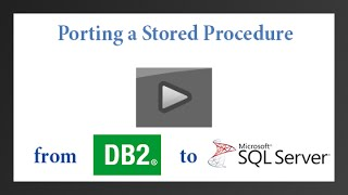 Porting a DB2 Stored Procedure to SQL Server with Raincode