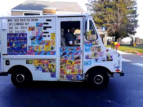 Ice cream truck in the hood has a hip hop sound