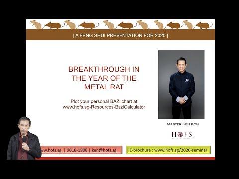 Year of the Metal Rat 2020 - Webinar for Aviva Singapore