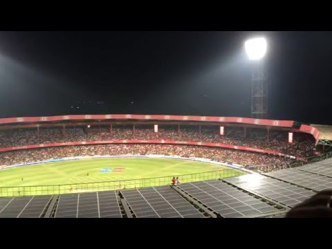 Royal Challengers Bangalore #BoldBox view!!! #RCB!! #BoldArmy Chinnaswamy Stadium, IPL