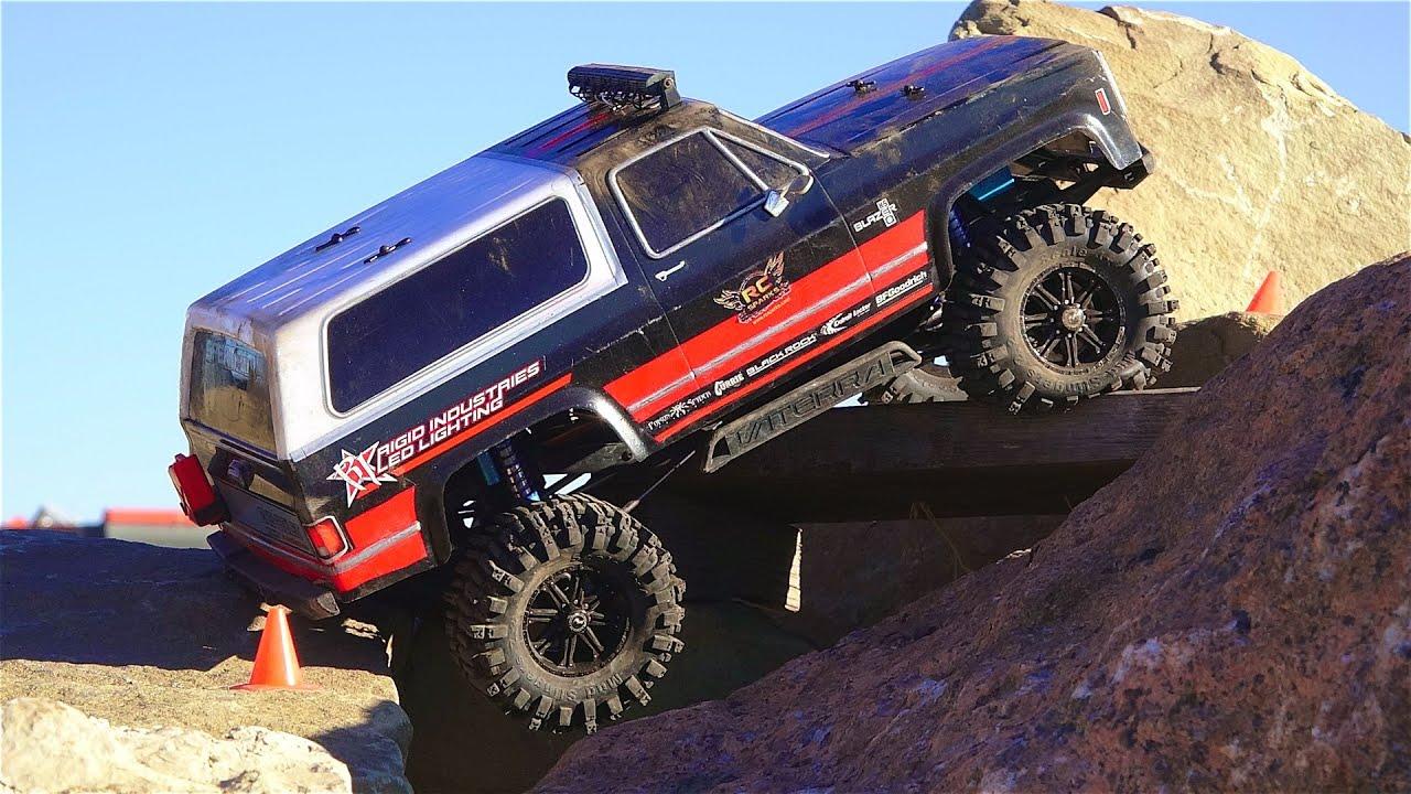 Rc Adventures - A 4x4 Rock Win   U0026 39 86 Chevy K5 Blazer 4x4